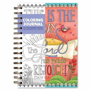 This Is The Day... Coloring Journal