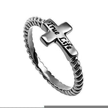 True Life Cross Ring