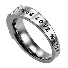 True Love Waits Shell Ensign Ring