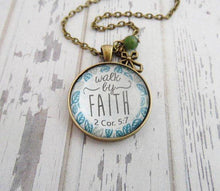 Walk By Faith Necklace