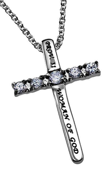Woman Of God Canale Cross Necklace