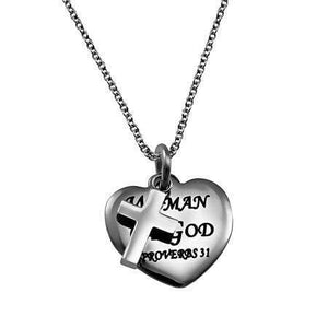 Women Of God Sweetheart Necklace