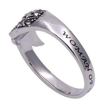 Women's Angel Wing Ring Woman of God