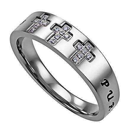 Women's Calvary Purity Ring