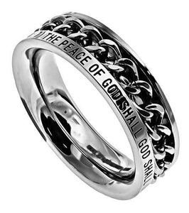 Women's Chain Ring The Peace Of God