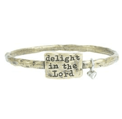 Women's Delight In The Lord Bracelet