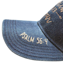 Women's Faith Over Fear Denim Cap