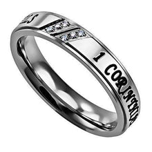Women's Luxury Ring Love Never Fails