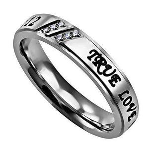 Women's Luxury Ring True Love Waits