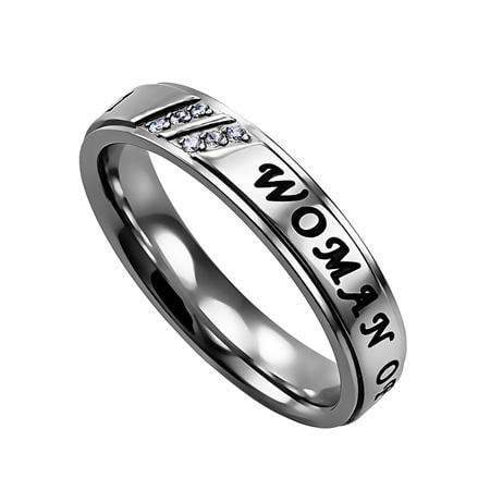 Women's Luxury Ring Women Of God