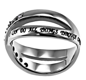 Women's Radiance Ring Christ My Strength