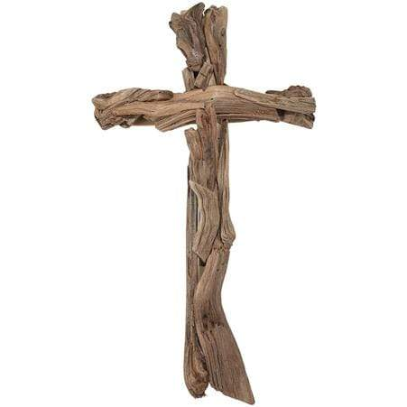 Wood Strips Cross