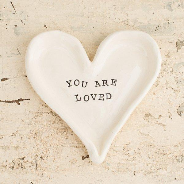 You Are Loved Jewelry Tray