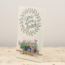 You Are Loved Wood Photo Frame