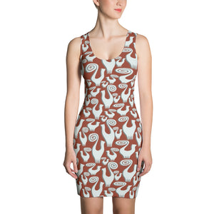 SNOOTY CATS  GALORE Sublimation Cut & Sew Dress - COOOL CATS