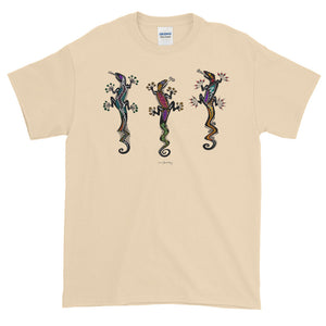 PARTY GECKOS Short-Sleeve T-Shirt - COOOL CATS