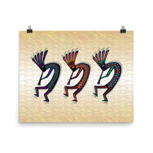 THREE KOKOPELLI Poster - COOOL CATS