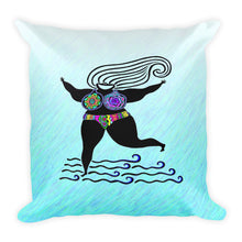 GODDESS Square Pillow - COOOL CATS