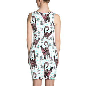 SNOBBY MARTINIS Sublimation Cut & Sew Dress - COOOL CATS