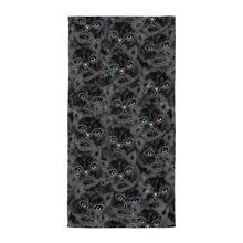 LUCKY BLACK KITTENS Towel - COOOL CATS