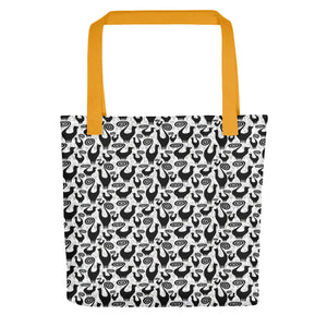 SNOOTY CATS PATTERN Tote bag - COOOL CATS