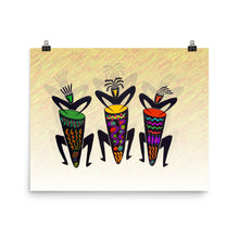 CONGA GUYS Poster - COOOL CATS