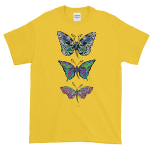 BUTTERFLIES Short-Sleeve T-Shirt - COOOL CATS