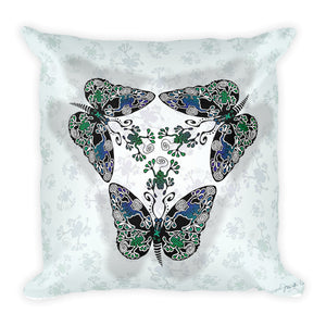 BUTTERFROGS Square Pillow - COOOL CATS