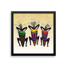 CONGA GUYS Framed poster - COOOL CATS