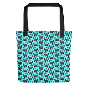 BLUE SNOBBY Tote bag - COOOL CATS
