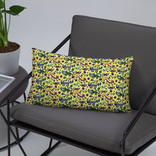 Sneaky Cats designer Basic Pillow by John A. Conroy