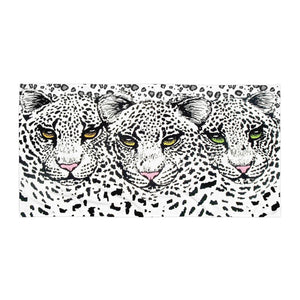 SNOW LEOPARD Towel - COOOL CATS