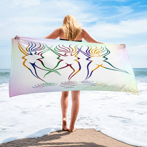GODDESS BEACH Towel - COOOL CATS
