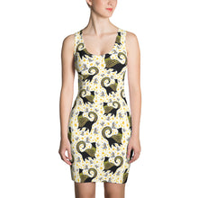 GOLD SNOBBY COCKTAILS Sublimation Cut & Sew Dress - COOOL CATS