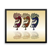 HORN PLAYERS Framed poster - COOOL CATS