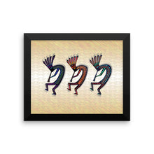 KOKOPELLI Framed poster