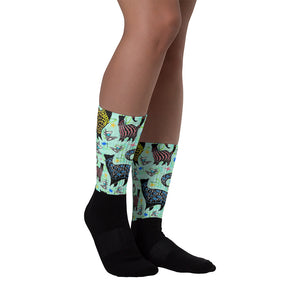 AQUA COCKTAILS Socks - COOOL CATS