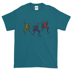 DANCING FROGS Short-Sleeve T-Shirt - COOOL CATS