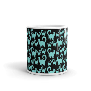 BLUE CATS Mug - COOOL CATS