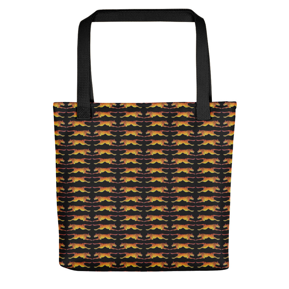 LEAPING TIGERS Tote bag - COOOL CATS
