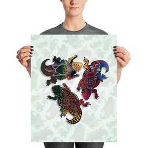 HORNY TOAD Poster - COOOL CATS