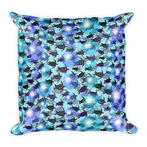SEA TURTLES Square Pillow - COOOL CATS