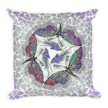 BUTTERDOLPHINS Square Pillow - COOOL CATS