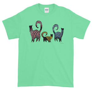 CASHMERE CATS Short-Sleeve T-Shirt - COOOL CATS