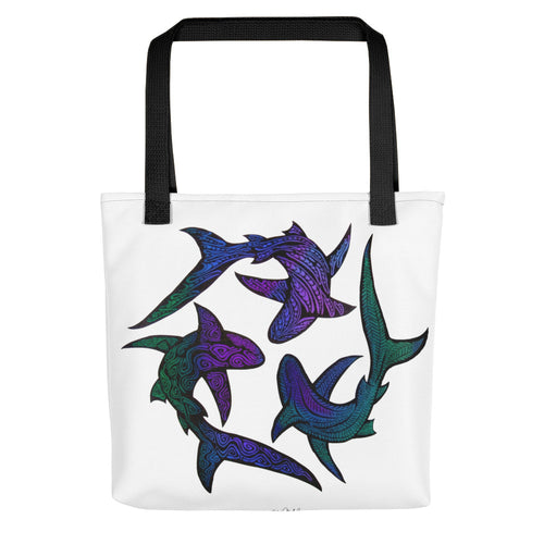 SHARKS Tote bag - COOOL CATS