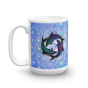 DOLPHIN CIRCLE Mug - COOOL CATS