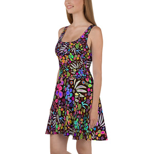 Fruit Salad 2 designer Skater Dress by John A. Conroy