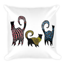CASHMERE CATS Square Pillow - COOOL CATS