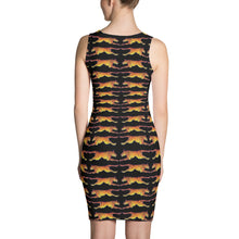 LEAPING TIGERS Sublimation Cut & Sew Dress - COOOL CATS