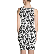 SNOOTY SCATTER Sublimation Cut & Sew Dress - COOOL CATS